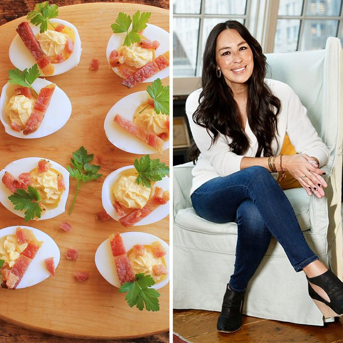 """Truffles; Shutterstock ID 417259570; Job (TFH, TOH, RD, BNB, CWM, CM): TOH, Mandatory Credit: Photo by Brian Ach/Invision/AP/REX/Shutterstock (9988350f) Joanna Gaines poses for a portrait at the Gotham Hotel in New York to promote her book """"Homebody: A Guide to Creating Spaces You Never Want to Leave Joanna Gaines Portrait Session, New York, USA - 06 Nov 2018"""