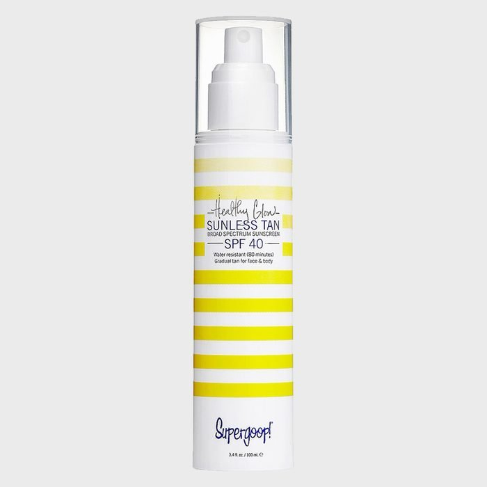 Supergoop Healthy Glow Sunless Tan Broad Spectrum Sunscreen Spf 40