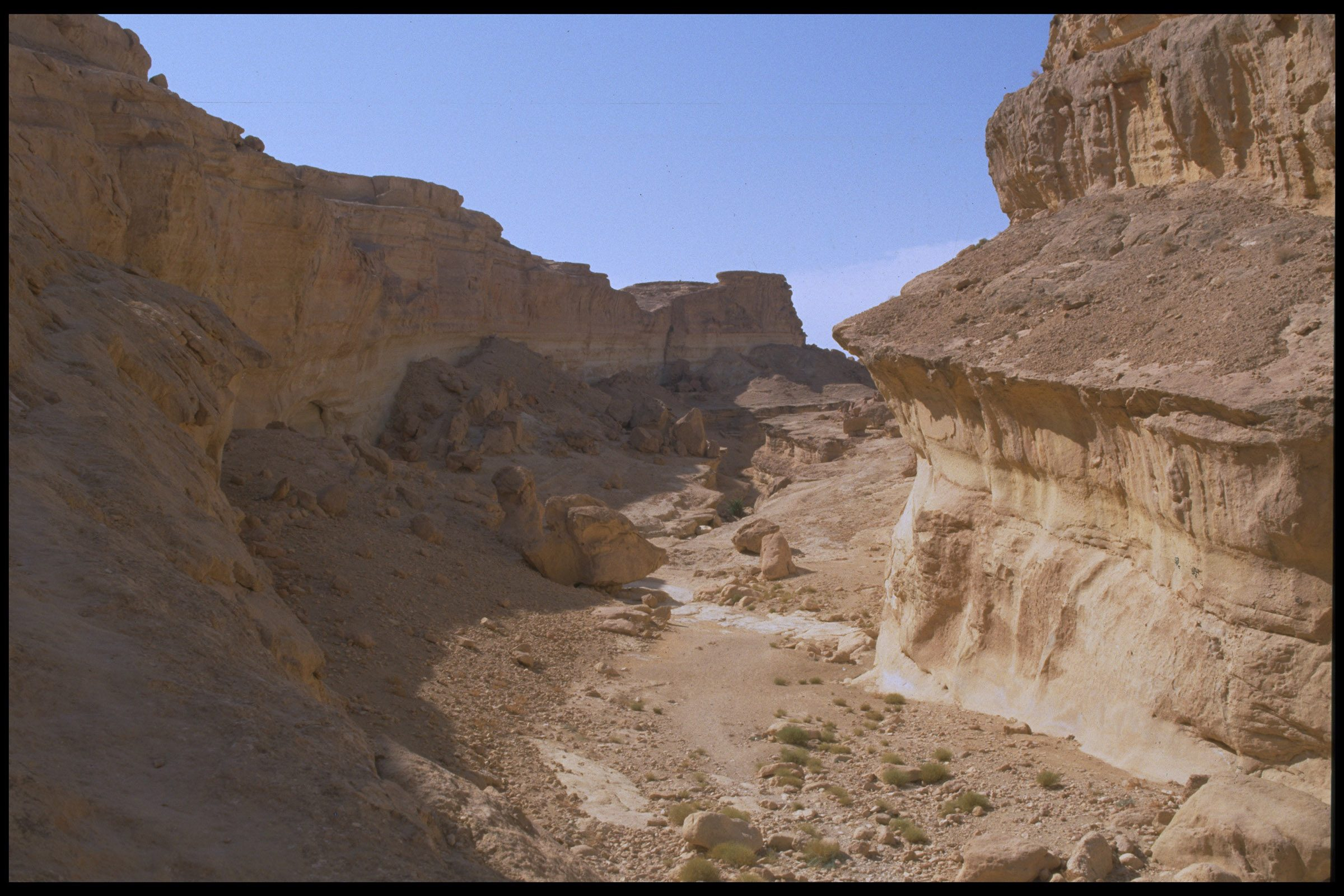"""Star Wars Valley, Tunisia. """
