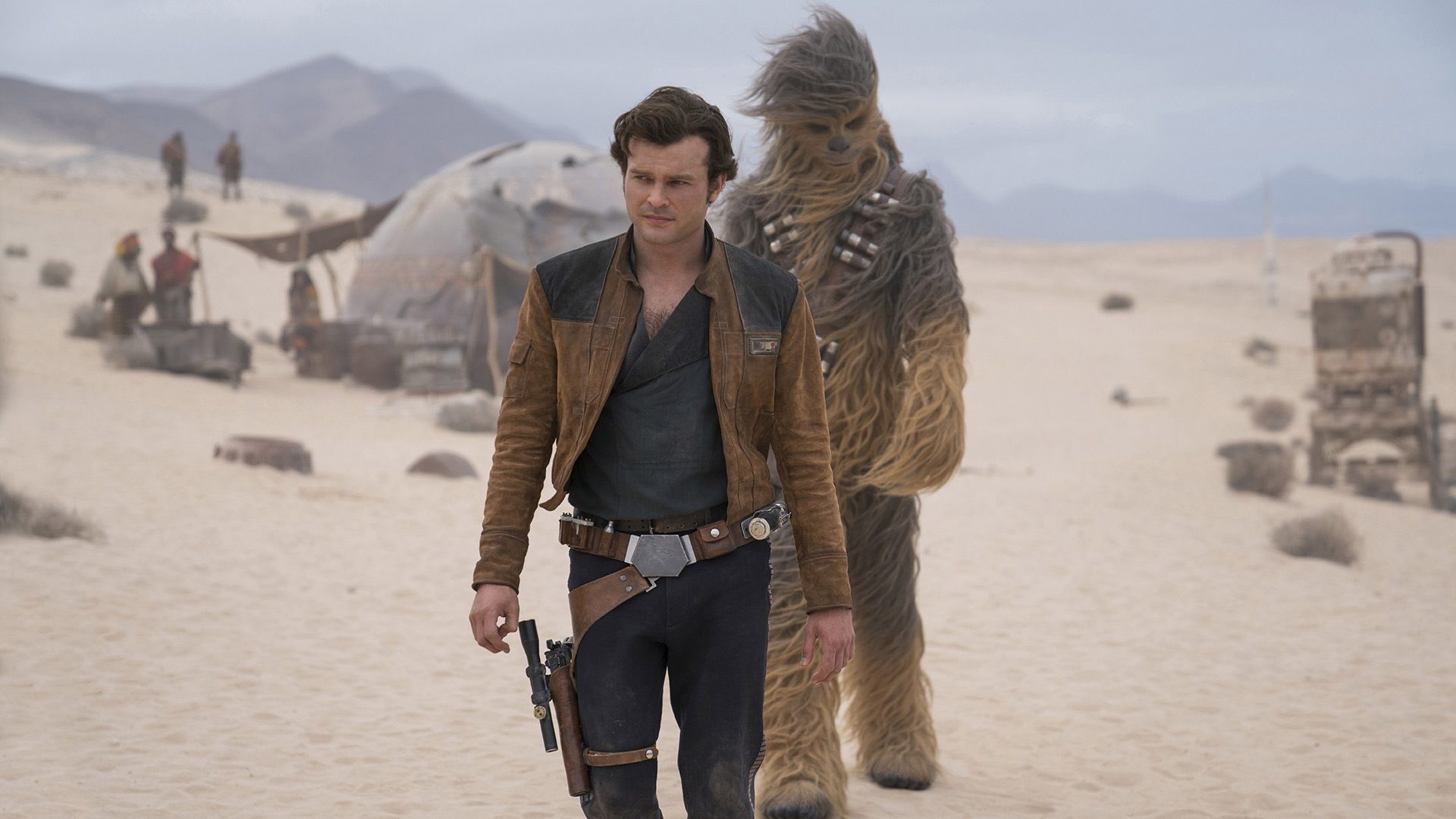 Han and Chewie on Savareen