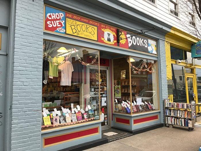 Virginia Chop Suey Bookstore