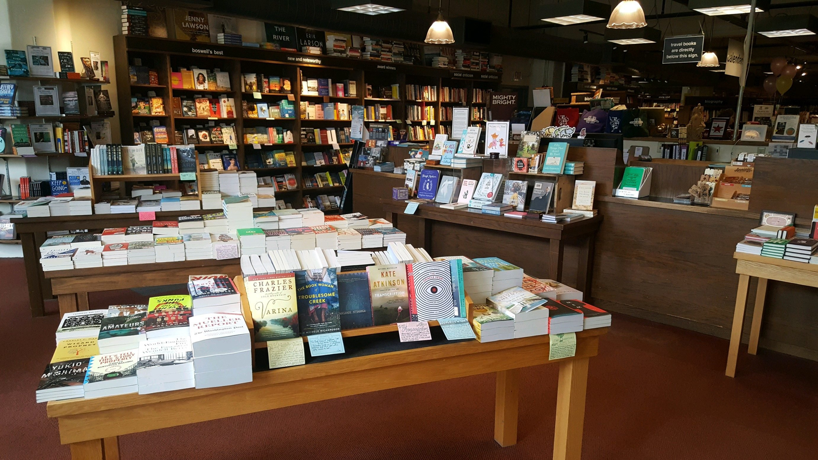 Wisconsin Boswell Book Company