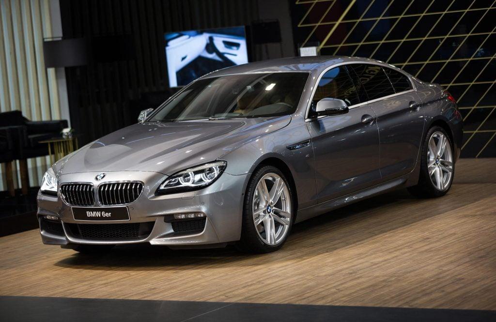 Belgrade, Serbia - March 23, 2017: New BMW 6 Series presented at Belgrade 53th International Motor Show - MSA (OICA).
