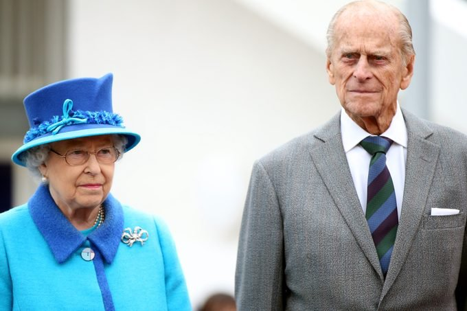 Britain's Queen Elizabeth II and Prince Phillip