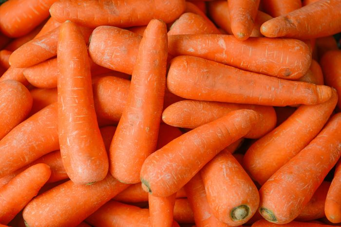 Organic carrot. Food background