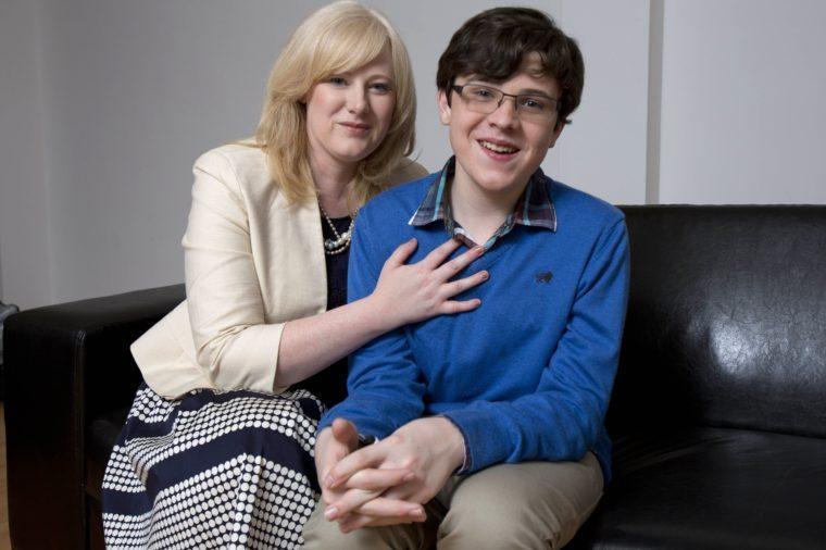 Child genius born with Asperger's syndrome has IQ higher than Einstein's, London, Britain - 11 Apr 2012