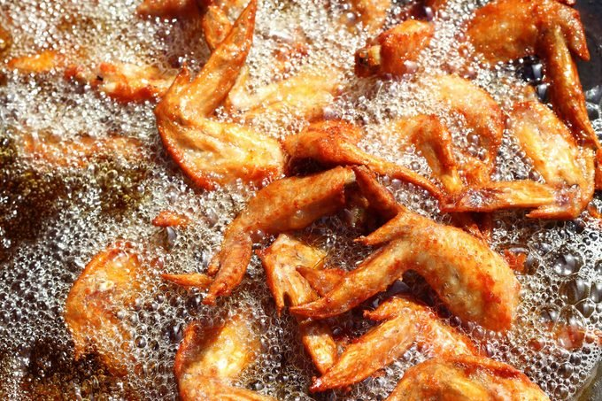fried chicken oil
