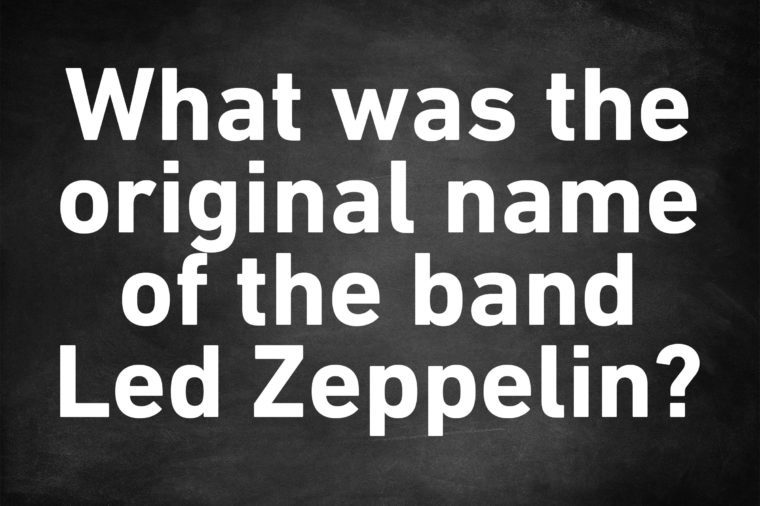 genius trivia question led zeppelin