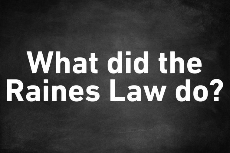 genius trivia question raines law