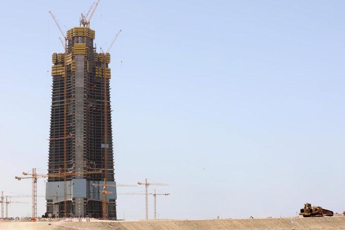 Jeddah Tower, Saudi Arabia - 09 May 2018