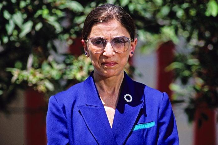 Judge Ruth Bader Ginsburg named to the Supreme Court, Washington DC, USA - 14 Jun 1993