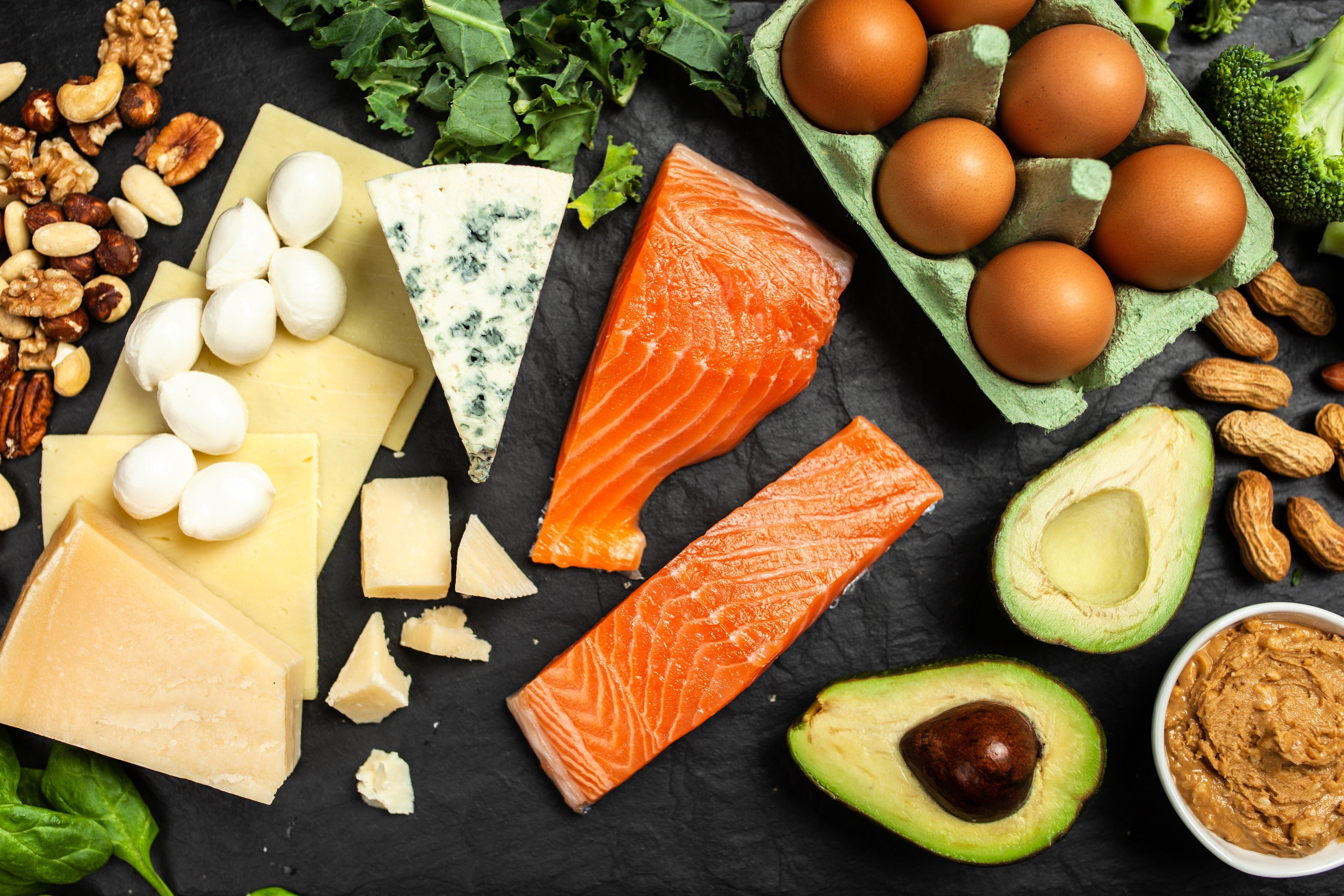 Keto diet food ingredients