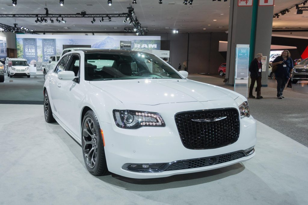 Los Angeles, USA - November 19, 2015: Chrysler 300 S on display during the 2015 Los Angeles Auto Show.