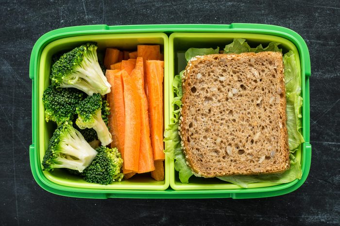 lunchbox green container