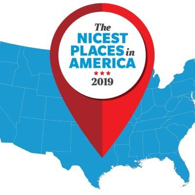 Nicest Places Map