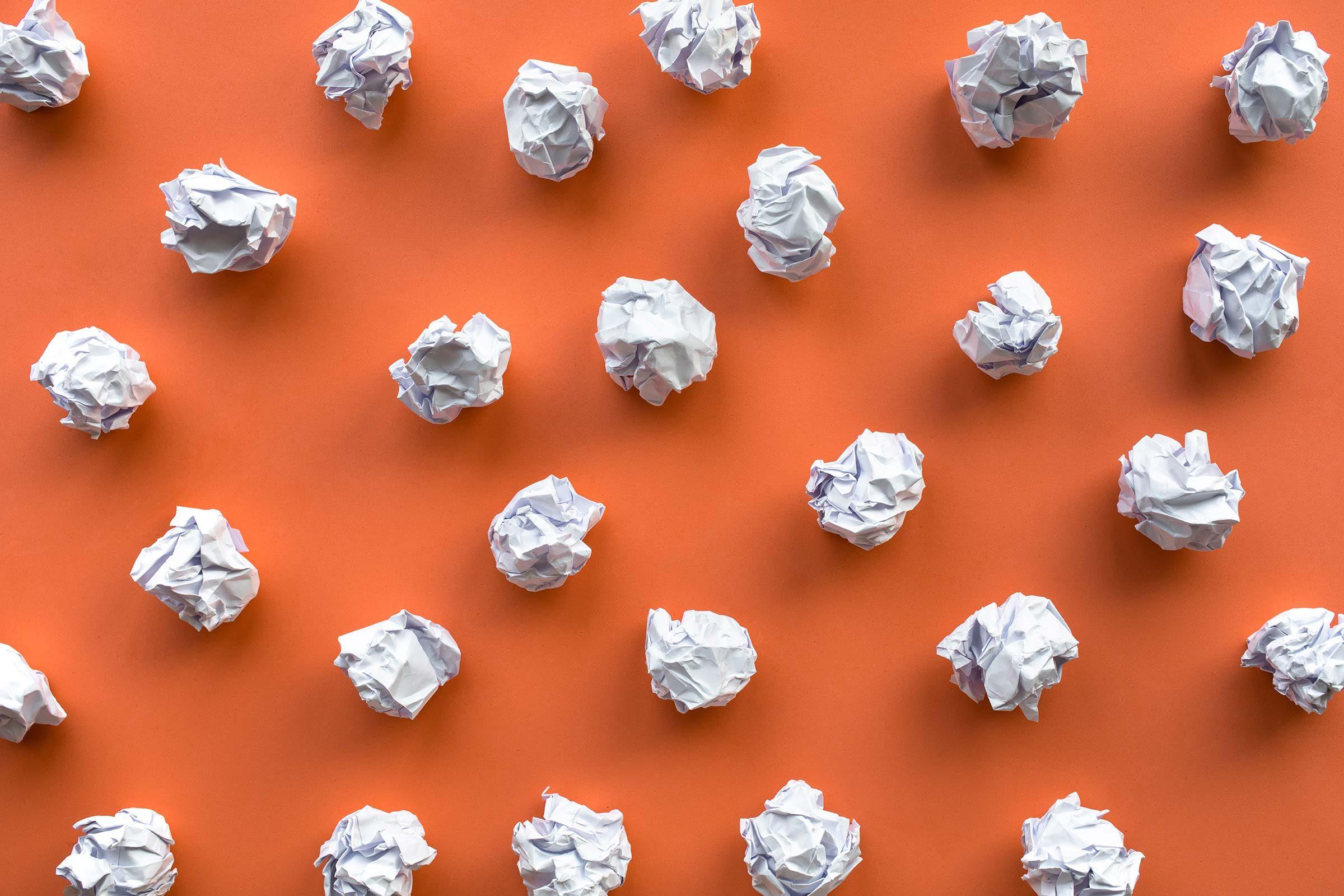 crumpled paper pattern