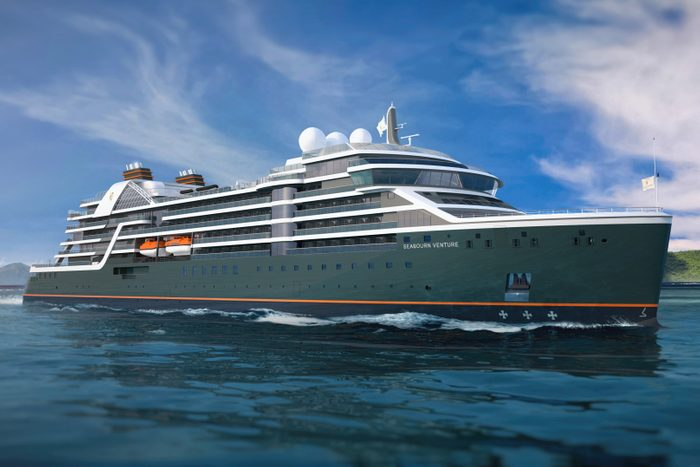 Seabourn Luxury Expedition Venture Ship Courtesy Seabourn