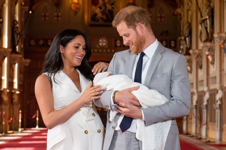 Prince Harry and Meghan Duchess of Sussex new baby
