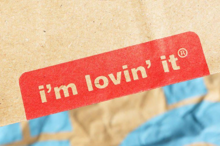 mcdonald's i'm lovin it