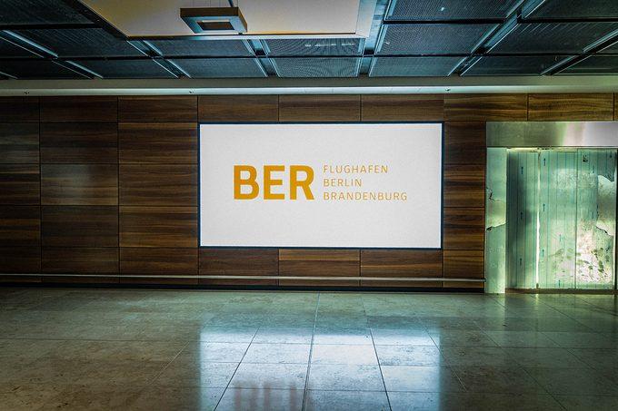 Construction Site of future Berlin-Brandenburg Airpor