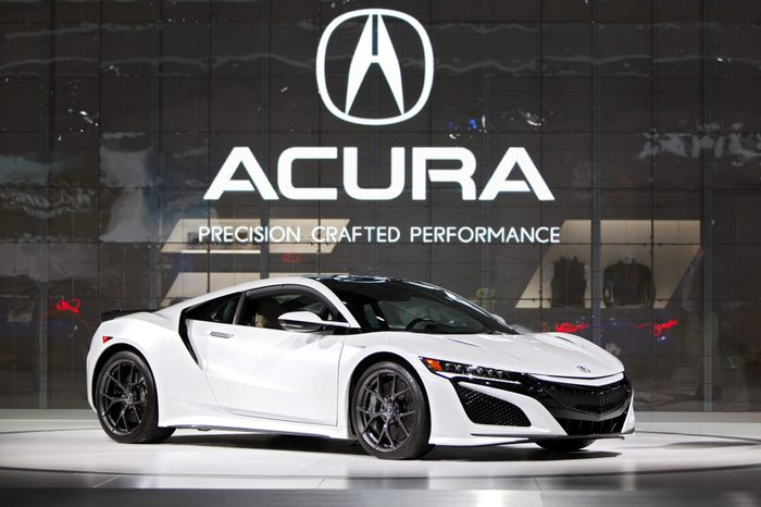 Acura 2019 NSX supercar American International Auto Show Detroit Michigan