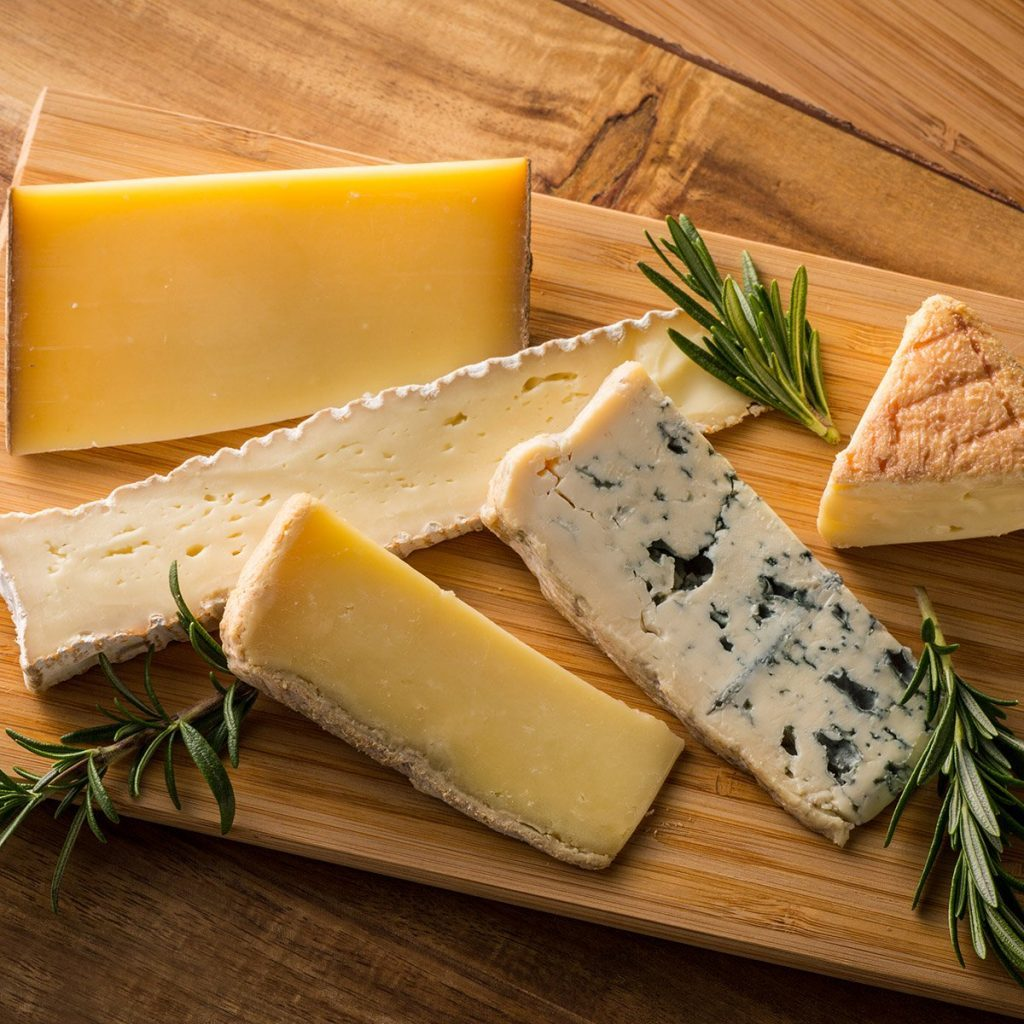 Various cheese ; Shutterstock ID 599354891