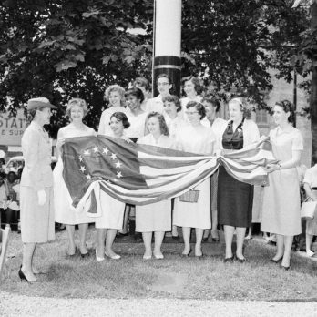 Here's What Flag Day Used to Look Like