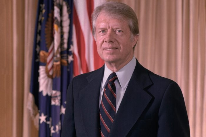 Official portrait of President Jimmy Carter. Ca. 1977-1980.