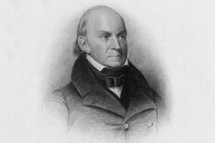 John Quincy Adams Us President 1825-1829 1767 - 1848