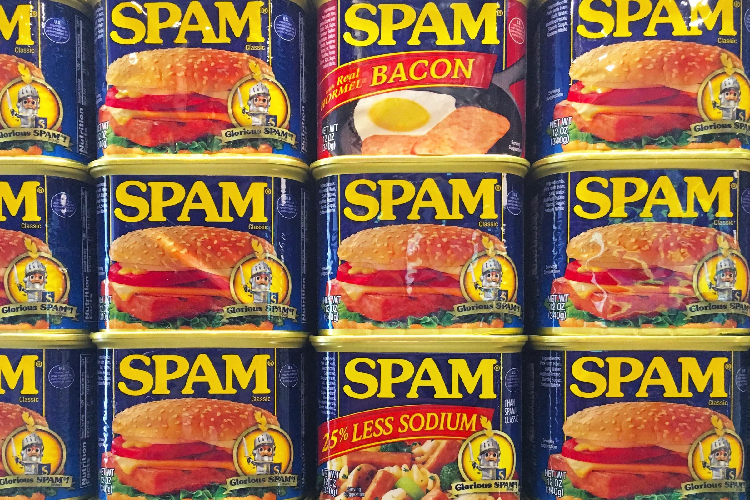 spam cans meat