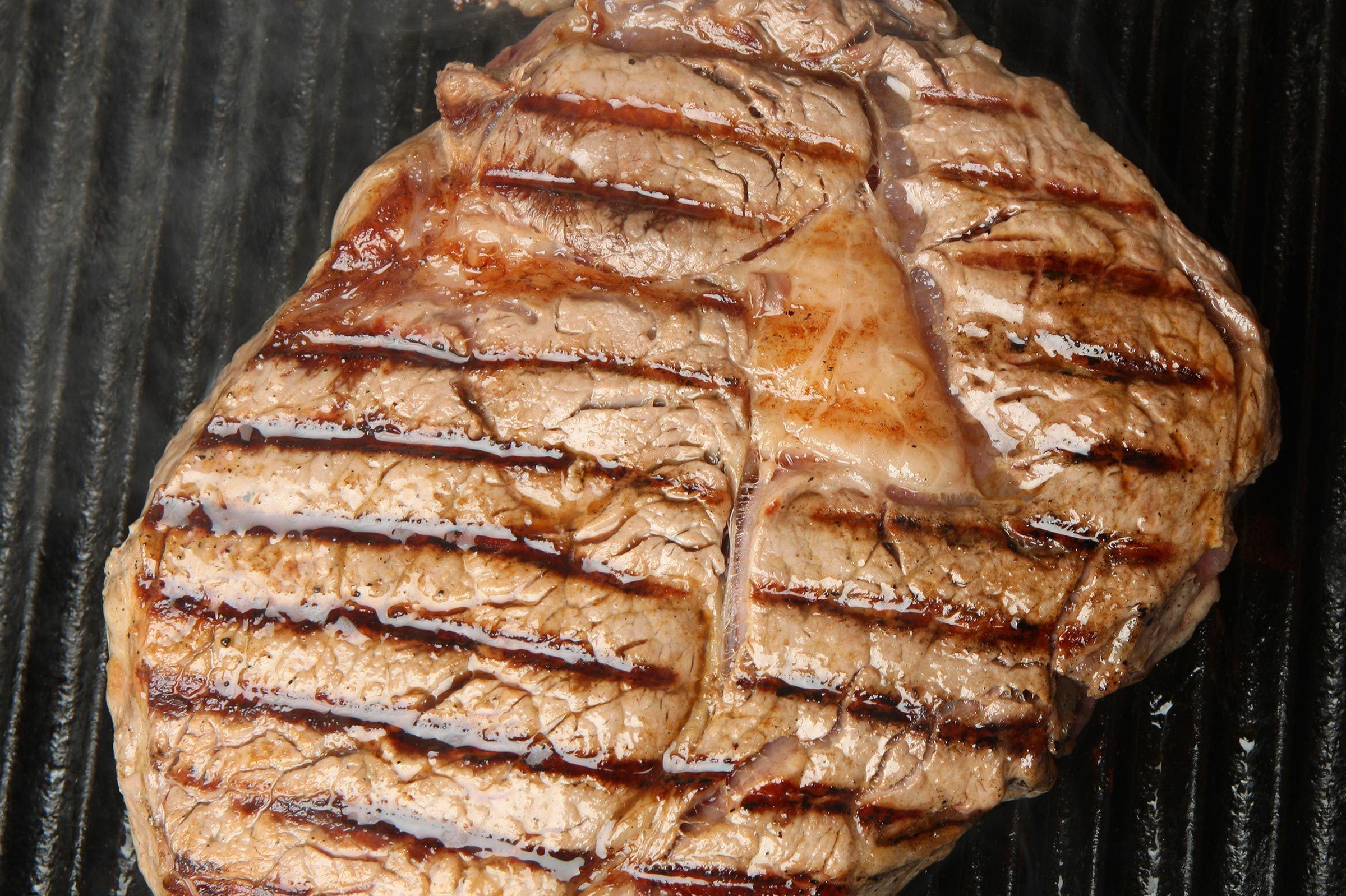steak cooking grill