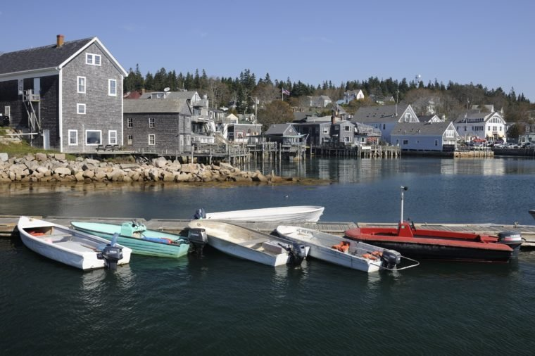harbor, Stonington, Maine