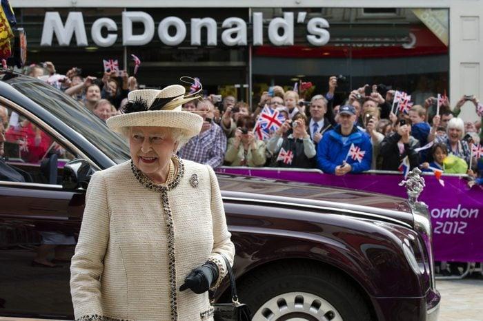 The Queen's Diamond Jubilee UK Tour, Leeds, Britain - 19 Jul 2012