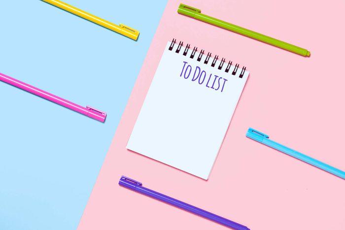 to do list pens