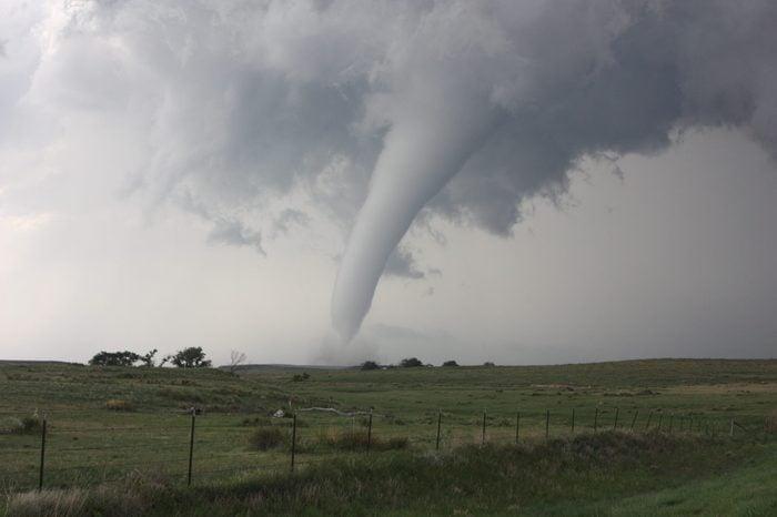 Peaceful tornado in Colorado