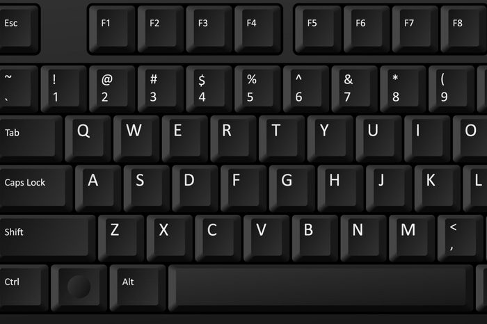 vector black pc keyboard, keyboard is very useful tool for personal computer, it is necessary to write words