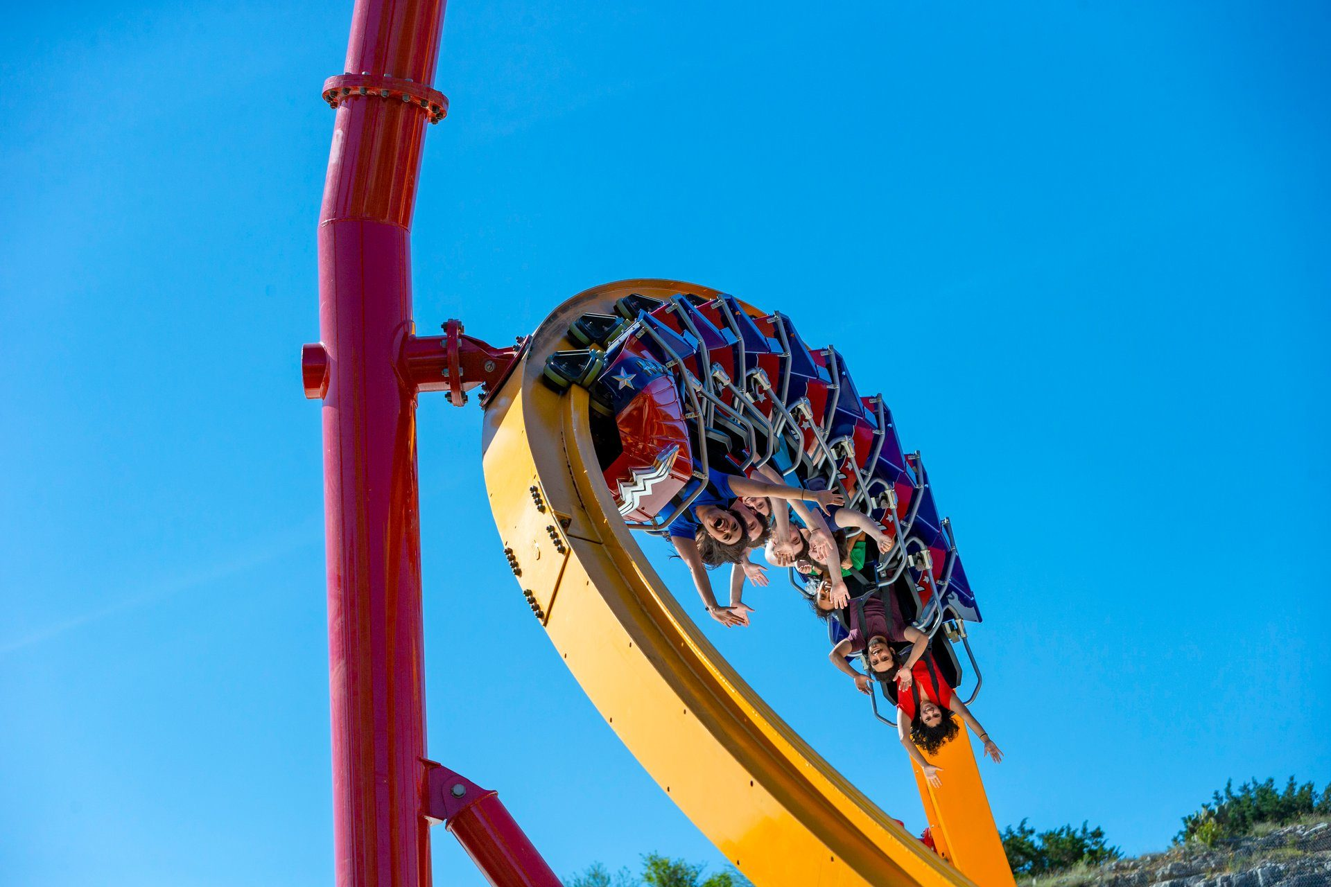 Six Flags Fiesta Texas Wonder Woman