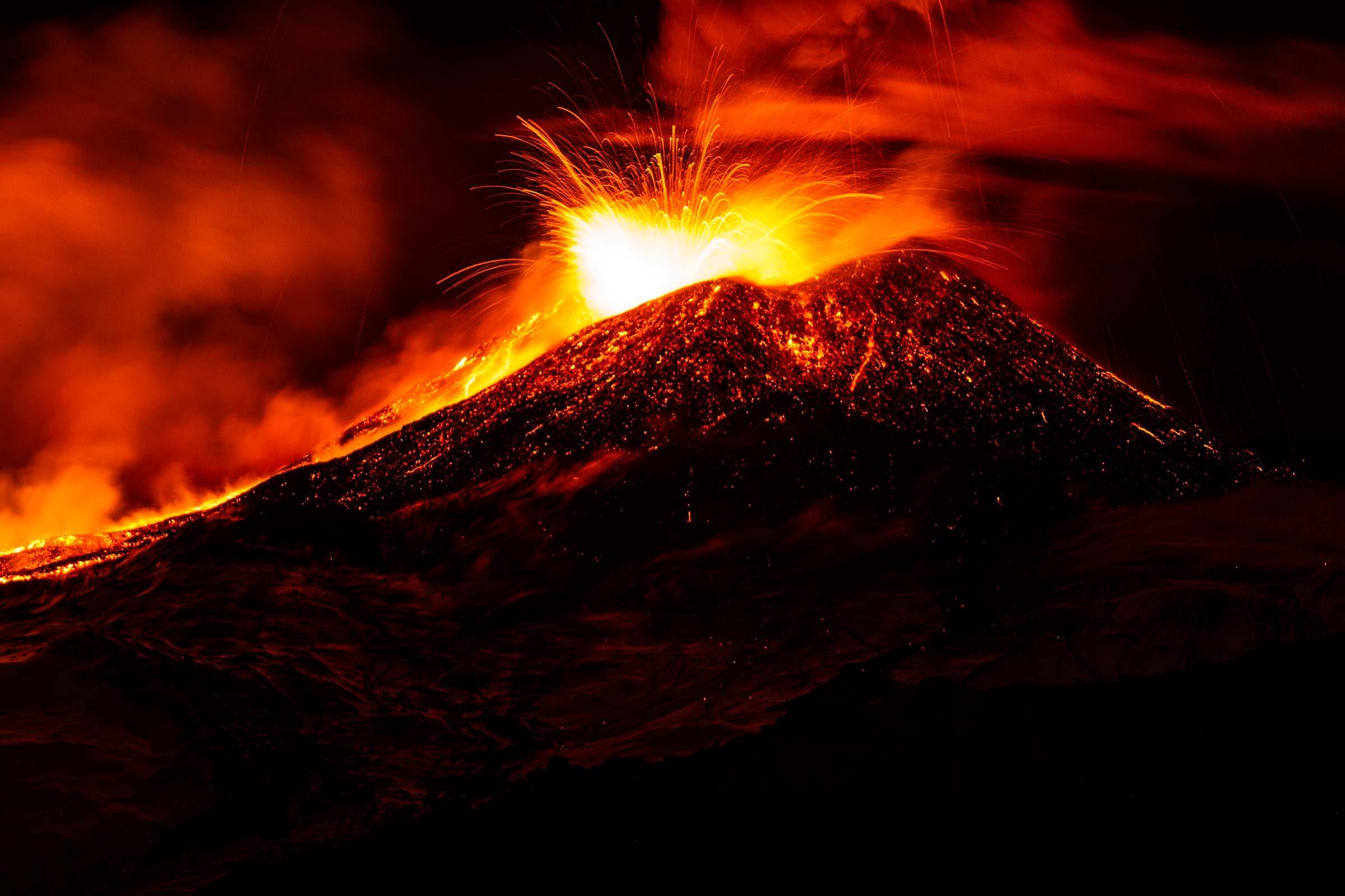Mount Etna italy starwars