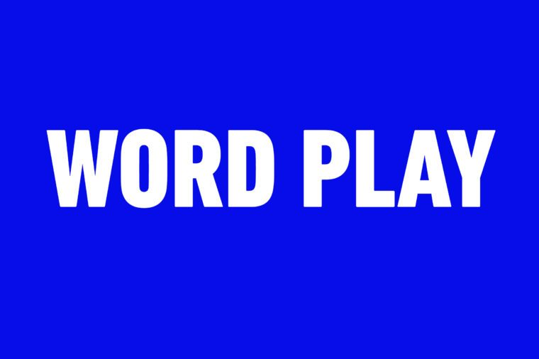 Can You Answer Jeopardy! Questions About Words? | Reader's