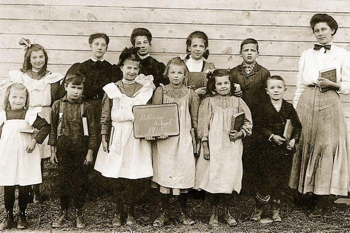 school uniform vintage