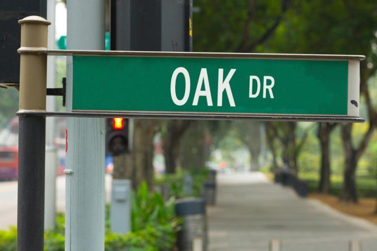 oak dr