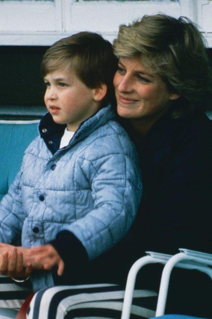 صور للاميرة ديانا رفقة ابنها