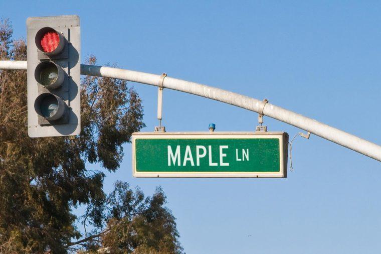 maple ln