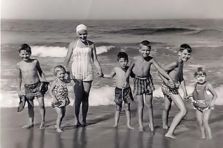 Mike Mulhern vintage beach photo