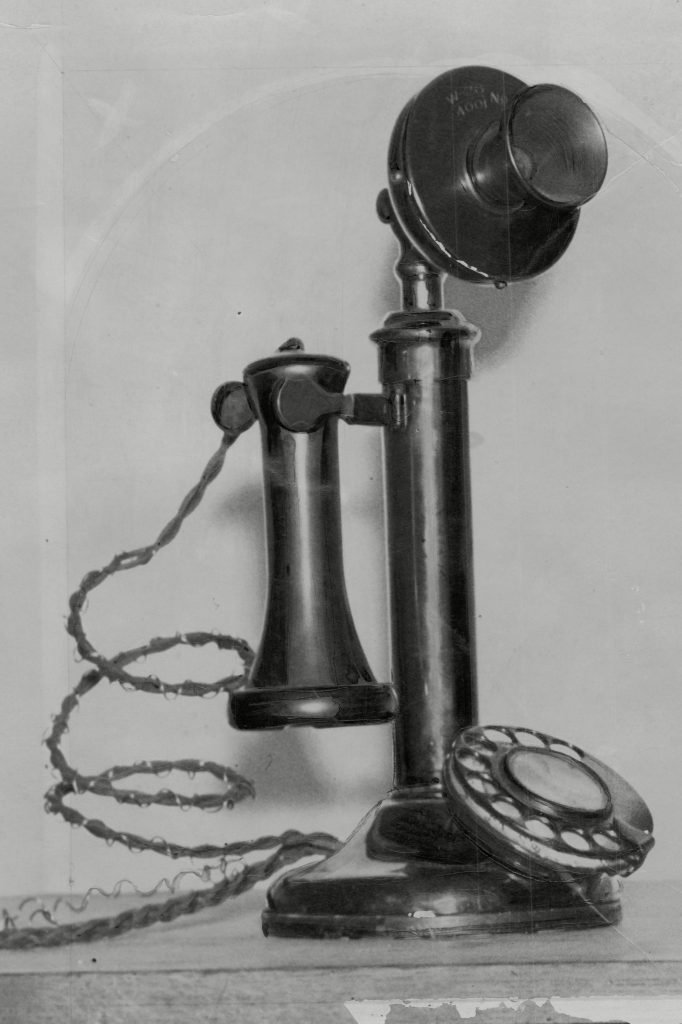 Old Time Telephone 1936.