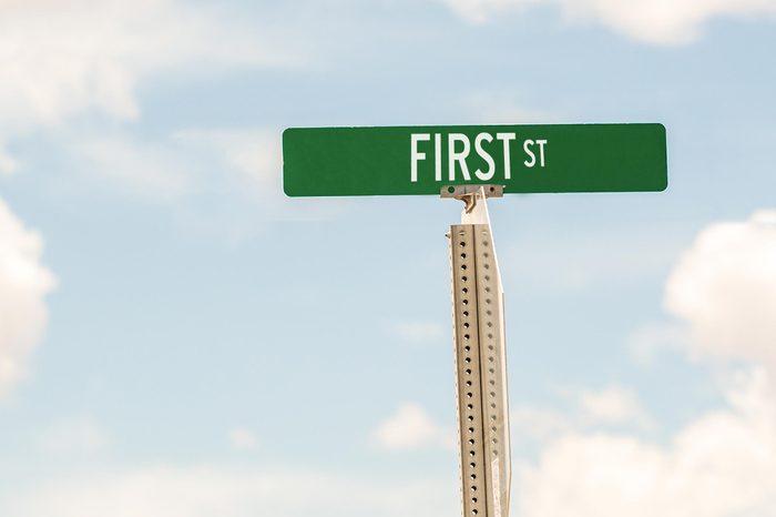 first st
