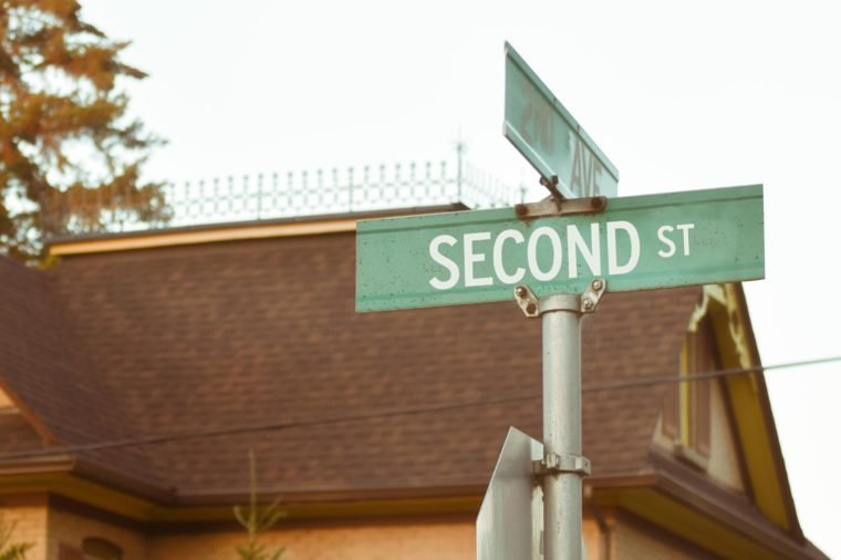 second st