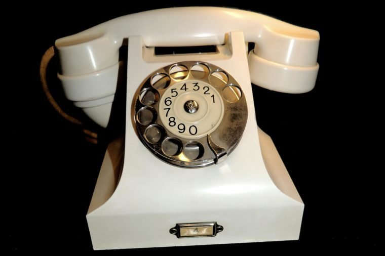 Telephone used by the King and Queen of Norway in the 1930's.