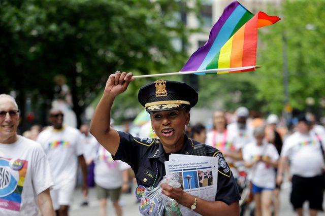 Gay Pride Parade Seattle, Seattle, USA