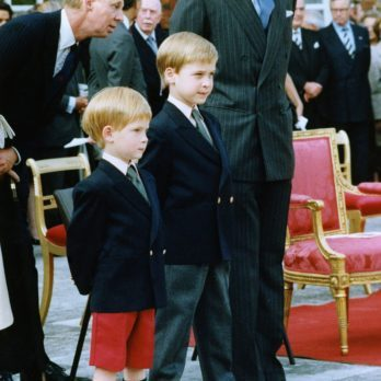 10 Like-Father, Like-Son Photos of Prince Charles and Prince William